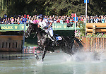 Nicola Wilson and Opposition Buzz of Great Britain compete in the cross country phase of the FEI  World Eventing Championship at the Alltech World Equestrian Games in Lexington, Kentucky.