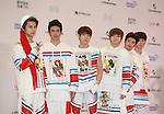C-CLOWN, Jun 07, 2014 : K-pop boy band C-Clown pose before the Dream Concert in Seoul, South Korea. (Photo by Lee Jae-Won/AFLO) (SOUTH KOREA)