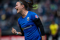 Seattle, WA - Saturday May 13, 2017: Christine Nairn during a regular season National Women's Soccer League (NWSL) match between the Seattle Reign FC and the Washington Spirit at Memorial Stadium.
