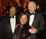 From left: Jodie and Sonny Jiles with Drayton McLane at the UNCF 21at Annual Black Tie Gala at the Hilton Americas Hotel Friday Dec. 04,2009. (Dave Rossman/For the Chronicle)