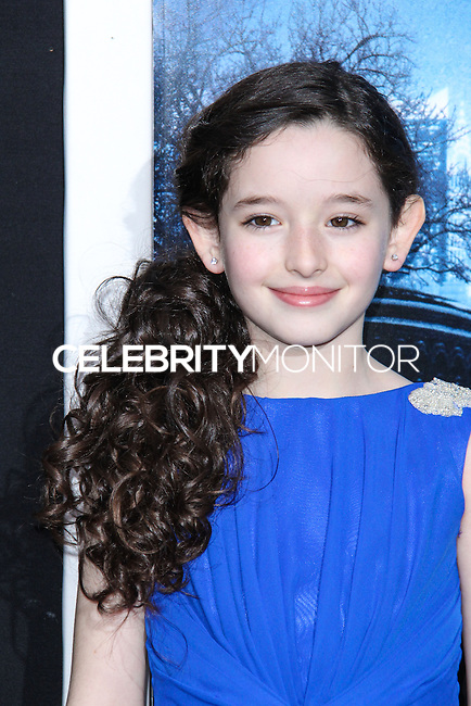 """NEW YORK, NY - FEBRUARY 11: Mckayla Twiggs at the World Premiere Of Warner Bros. Pictures' """"Winter's Tale"""" held at Ziegfeld Theatre on February 11, 2014 in New York City. (Photo by Jeffery Duran/Celebrity Monitor)"""