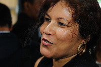 Mrs. Ingrid Bouterse-Waldring wife of Desi Bouterse (Desiré Delano Bouterse) newly selected the President of Suriname. ....Desi Bouterse (Desiré Delano Bouterse) chosen as new president of Suriname by De Nationale Assemblée (DNA) / The National Assemble of Suriname. He took 36 votes of 51 as leader of the Mega Combination. ....Robert_Ameerali the head of KKF (Kamer van Koophandel en Fabrieken) / Chamber of Commerce and Industry also selected as Vice President.....Desi Bouterse (Desiré Delano Bouterse) will sworn at 3 August 2010