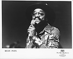 Billy Paul..photo from promoarchive.com/ Photofeatures....