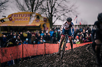 Nikki Brammeier (GBR/MUDIIITA-Canyon)<br /> <br /> Women Elite Race<br /> UCI CX Worlds 2018<br /> Valkenburg - The Netherlands