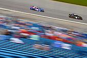#18: Riley Herbst, Joe Gibbs Racing, Toyota Supra Monster and #81: Jeffrey Earnhardt, XCI Racing, Toyota Supra Comcast NBCUniversal Salute to Service