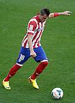 Atletico de Madrid's Jose Maria Gimenez during La Liga match.September 14,2013. (ALTERPHOTOS/Acero)