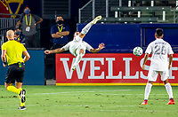 CARSON, CA - SEPTEMBER 06: Sebastian Lletget #17 of the Los Angeles Galaxy scores a goal with a bicycle kick during a game between Los Angeles FC and Los Angeles Galaxy at Bank of California stadium on September 06, 2020 in Carson, California.