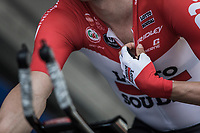 Jens Keukeleire (BEL/Lotto Soudal) start ready.<br /> <br /> Baloise Belgium Tour 2018<br /> Stage 3: ITT Bornem - Bornem (10.6km)