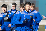 St Johnstone Training...19.03.21<br />Guy Melamed pictured during training at McDiarmid Park ahead of tomorrows game against Ross County.<br />Picture by Graeme Hart.<br />Copyright Perthshire Picture Agency<br />Tel: 01738 623350  Mobile: 07990 594431