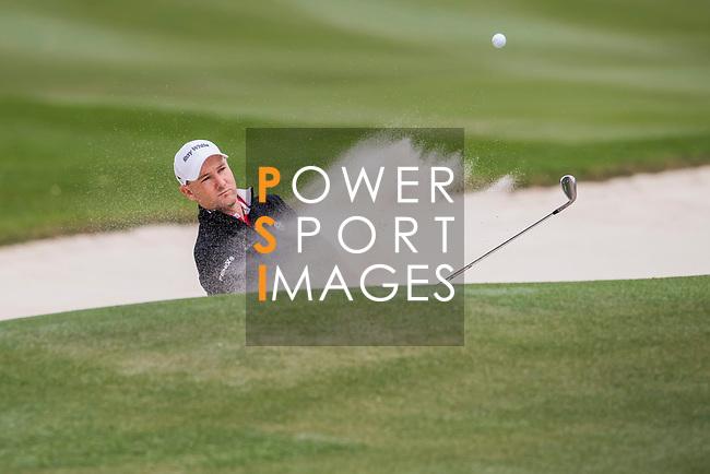 Sam Brazel of Australia hits a shot during the day three of UBS Hong Kong Open 2017 at the Hong Kong Golf Club on 25 November 2017, in Hong Kong, Hong Kong. Photo by Marcio Rodrigo Machado / Power Sport Images