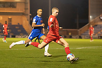 Sam Ling, Leyton Orient prepares to cross during Colchester United vs Leyton Orient, Sky Bet EFL League 2 Football at the JobServe Community Stadium on 14th November 2020