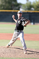 Riley Welch, Yavapai College Roughriders playing at Phoenix College, Phoenix, AZ - 05/01/2010.Photo by:  Bill Mitchell/Four Seam Images.