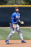 Marc Venning #9 of the UC Santa Barbara Gauchos during a game against the Cal State Northridge Matadors at Matador Field on May 12, 2013 in Northridge, California. Cal State Northridge defeated UC Santa Barbara 7-1. (Larry Goren/Four Seam Images)