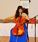 Miss Chinatown Houston, Sharon Liu, on the cello.