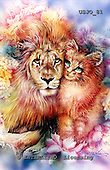 Marie, REALISTIC ANIMALS, REALISTISCHE TIERE, ANIMALES REALISTICOS, paintings+++++,USJO81,#A# ,Joan Marie, lion