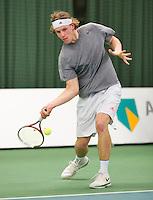 19-01-13, Tennis, Rotterdam, Wildcard for qualification ABNAMROWTT, Lennart van Campen