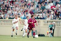 SAN JOSE, CA - MAY 09:  during a game between England and USWNT at Spartan Stadium on May 09, 1997 in San Jose, California.