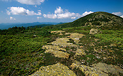 Appalachian Trail-Mount Eisenhower in the Southern Presidential Range of the White Mountain National Forest, New Hampshire USA.