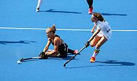 Frances Davies during the Pro League Hockey match between the Blacksticks Women and Belgium, National Hockey Arena, Auckland, New Zealand, Sunday 2 February 2020. Photo: Simon Watts/www.bwmedia.co.nz