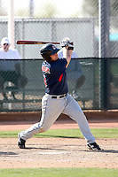 Adam Abraham, Cleveland Indians 2010 minor league spring training..Photo by:  Bill Mitchell/Four Seam Images.