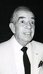 """Vincente Minnelli after seeing """"Yves Montand at the Met"""" on September 5, 1982 at The Met in New York City."""