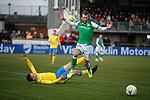 09.02.2020 BSC Glasgow v Hibs: Christian Doidge and Ross Smith