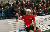 19-01-14,Netherlands, Rotterdam,  TC Victoria, Wildcard Tournament, ,   Final,  Alban Meuffels (NED)    <br /> Photo: Henk Koster