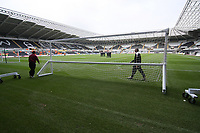 Pictured: A general View of the Liberty Stadium, Home to Swansea City<br />