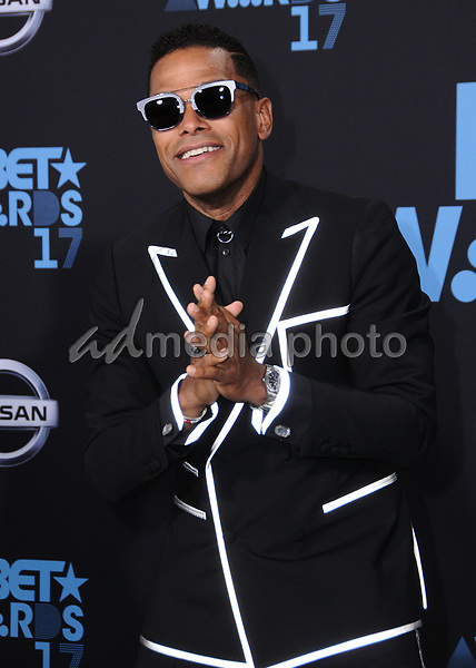 25 June 2017 - Los Angeles, California - Maxwell. 2017 BET Awards held at the Microsoft Square in Los Angeles. Photo Credit: Birdie Thompson/AdMedia