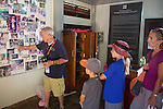 Bill Morse Giving Tour At Land Mine Museum