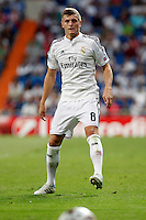 Toni Kroos of Real Madrid during the Champions League group B soccer match between Real Madrid and FC Basel 1893 at Santiago Bernabeu Stadium in Madrid, Spain. September 16, 2014. (ALTERPHOTOS/Caro Marin) /NortePhoto.com