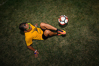 Chicago, IL - Wednesday June 22, 2016: Sponsors prior to a Copa America Centenario semifinal match between Colombia (COL) and Chile (CHI) at Soldier Field.