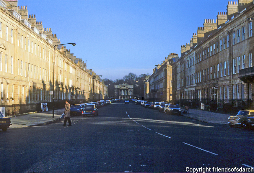 Bath: Great Pulteney St. to Holburne Museum.