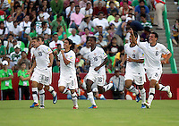 ..Action photo of USA celebration, during game of the FIFA Under 17 World Cup game, held at  Torreon.