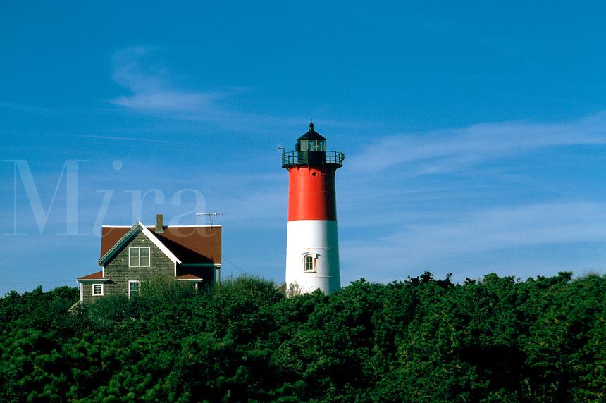 The Nauset Lighthouse. Eastham, Massachusetts.
