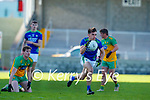 Brian O Beaglaoich, Kerry in action against Ciaran Thompson, Donegal  during the Allianz Football League Division 1 Round 7 match between Kerry and Donegal at Austin Stack Park in Tralee on Saturday.