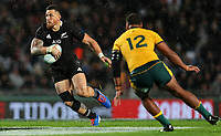 Sonny Bill Williams in action during the Bledisloe Cup rugby match between the New Zealand All Blacks and Australia Wallabies at Eden Park in Auckland, New Zealand on Saturday, 17 August 2019. Photo: Simon Watts / lintottphoto.co.nz