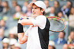 Scotch Andy Murray during Semi-Finals Mutua Madrid Open Tennis 2016 in Madrid, May 07, 2016. (ALTERPHOTOS/BorjaB.Hojas)