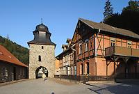 Deutschland, Sachsen-Anhalt, Stolberg im Harz, Stadtor