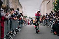 Rigoberto Uran (COL/Cannondale-Drapac at the Team presentation in La Roche-sur-Yon<br /> <br /> Le Grand Départ 2018<br /> 105th Tour de France 2018<br /> ©kramon