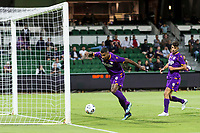 24th March 2021; HBF Park, Perth, Western Australia, Australia; A League Football, Perth Glory versus Sydney FC; Perth Glory player Bruno Fornaroli goes past keeper Andrew Redmayne to score for 1-0 in the 43rd minute
