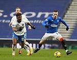 13.02.2021 Rangers v Kilmarnock: Aaron Tshibola and Ryan Kent