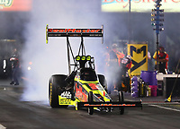 Apr 21, 2017; Baytown, TX, USA; NHRA top fuel driver Troy Coughlin Jr during qualifying for the Springnationals at Royal Purple Raceway. Mandatory Credit: Mark J. Rebilas-USA TODAY Sports