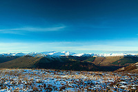 The Crianlarich Mountains from Beinn an t-Sidhein, Strathyre, Loch Lomond and the Trossachs National Park, Stirlingshire