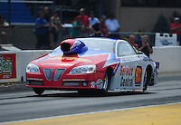 Jul, 10, 2011; Joliet, IL, USA: NHRA pro stock driver Shane Gray during the Route 66 Nationals at Route 66 Raceway. Mandatory Credit: Mark J. Rebilas-
