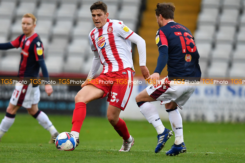 Jack Smith of Stevenage FC during Stevenage vs Bolton Wanderers, Sky Bet EFL League 2 Football at the Lamex Stadium on 21st November 2020