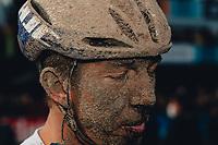 3rd October 2021, Paris–Roubaix Mens Cycling tour;  Sep Vanmarcke during the Paris–Roubaix which is famous for its uneven cobblestone course.