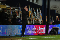 23rd February 2021; Kenilworth Road, Luton, Bedfordshire, England; English Football League Championship Football, Luton Town versus Millwall; A dejected Luton Town Manager Nathan Jones after the late equaliser from George Evans of Millwall for 1-1 in injury time