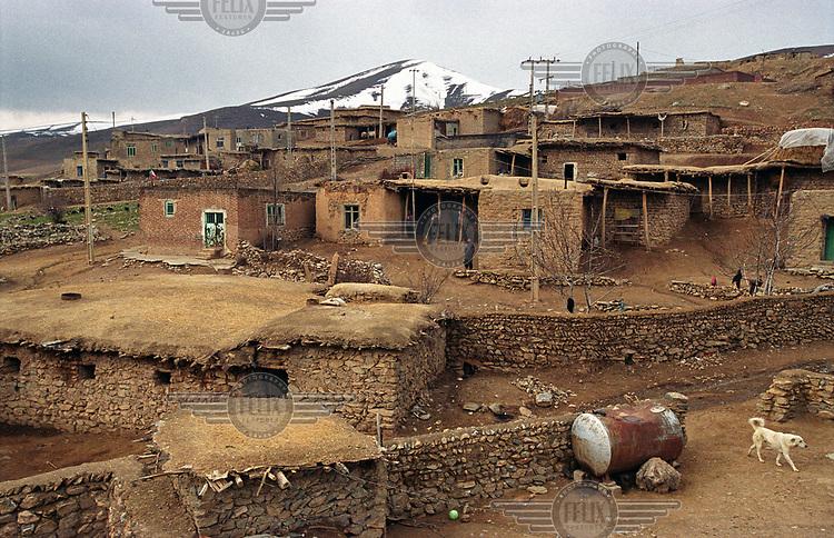 Kavtar, a traditional Kurdish village.