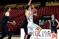 11-02-2021: Basketbal: Donar Groningen v Apollo Amsterdam: Groningen  Donar speler Will Moreton op weg naar score